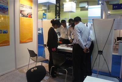 公司參加2013年印度環境保護博覽會